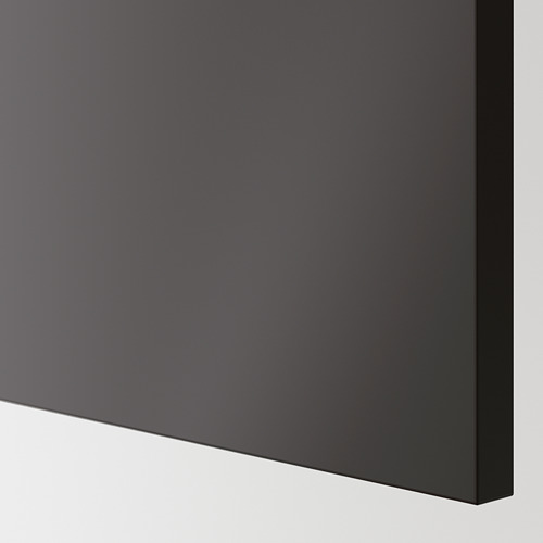 KUNGSBACKA - panel penutup, antrasit, 39x83 cm | IKEA Indonesia - PE622942_S4