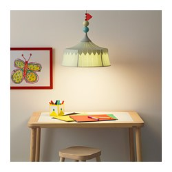 TROLLBO - Pendant lamp, light green