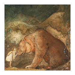 PJÄTTERYD - PJÄTTERYD, gambar, Fairytale, 56x56 cm