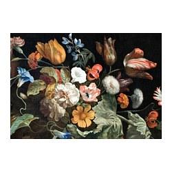 PJÄTTERYD - PJÄTTERYD, gambar, Variety of flowers, 100x70 cm