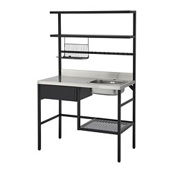 RÅVAROR - Mini-kitchen, black