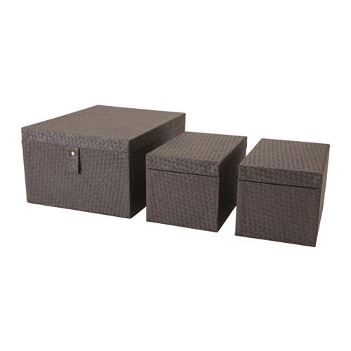 BATTING box, set of 3