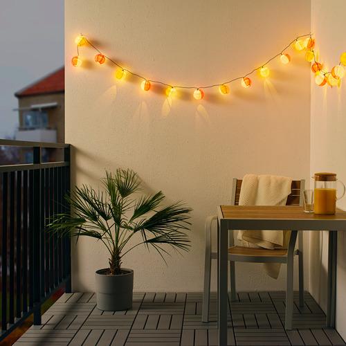 SOLVINDEN Rantai lampu LED dengan 24 lampu