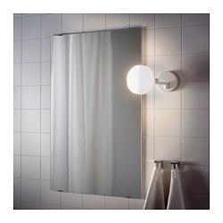 SVALLIS - Lampu dinding LED dg lengan berayun, dapat diredupkan/putih