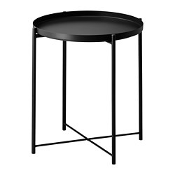 GLADOM - Tray table, black