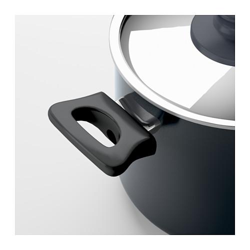 SKÄNKA pot with lid