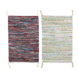TÅNUM - Rug, flatwoven, assorted colours