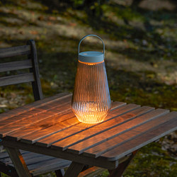 SOLVINDEN - LED lighting, outdoor/battery-operated clear glass