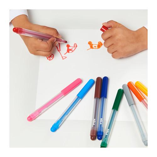 MÅLA pena tinta berwarna