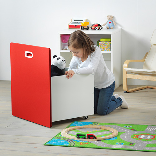 FRITIDS/STUVA penyimpanan mainan beroda