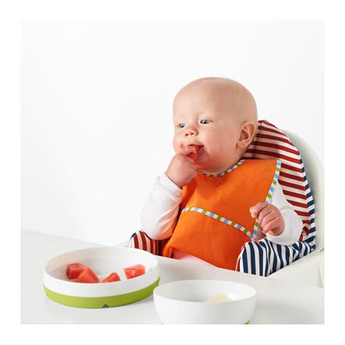 SMÅGLI piring/mangkuk