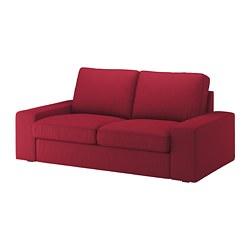 KIVIK - Sofa 2 dudukan, Orrsta merah