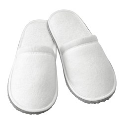 TÅSJÖN - Slippers, white