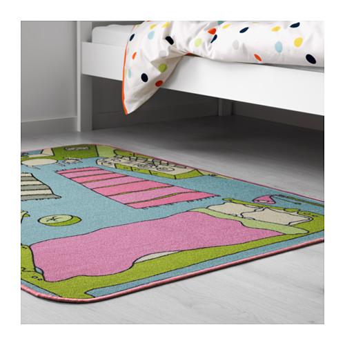 RUMMET karpet, bulu tipis