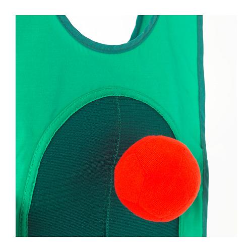 LUSTIGT permainan tag dengan rompi dan bola