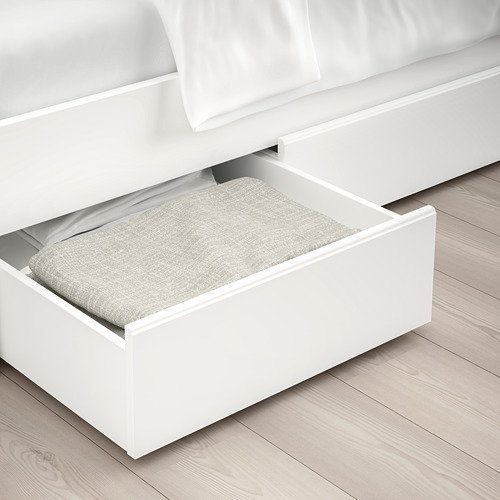 SONGESAND - rngk tmpt tdr dg 2 ktk penyimpanan, putih/Luröy, 160x200 cm | IKEA Indonesia - PE658848_S4