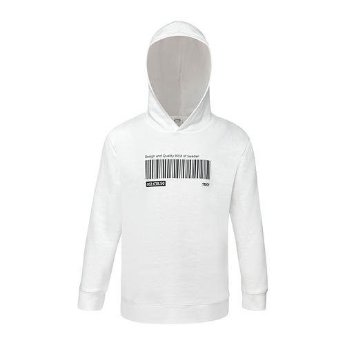 EFTERTRÄDA - jaket dengan penutup kepala, putih, 98/110 | IKEA Indonesia - PE810718_S4