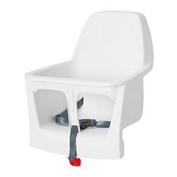 LANGUR - Seat shell for highchair, white