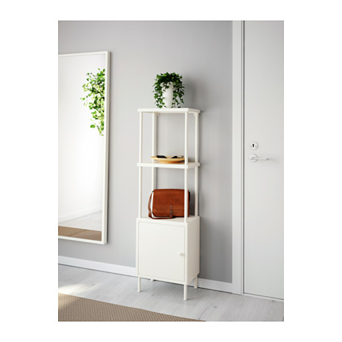 DYNAN shelving unit with cabinet