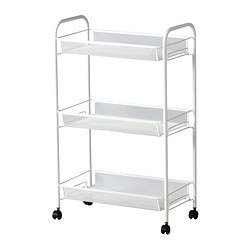 HORNAVAN - Trolley, white
