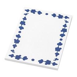 ANILINARE - Note pad, white/blue