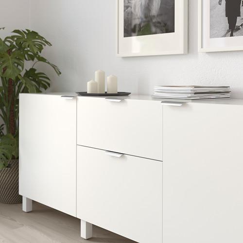 BILLSBRO - gagang, warna baja tahan karat, 120 mm | IKEA Indonesia - PE719931_S4