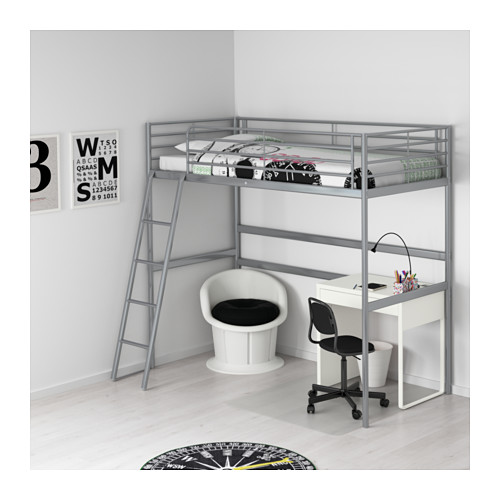 SVÄRTA loft bed frame