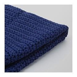 OTTERÖN - Pouffe cover, in/outdoor, blue