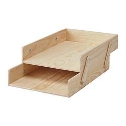 KLÄMMEMACKA - Letter tray, natural plywood