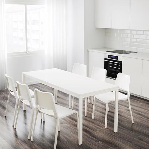 VANGSTA meja yang dapat dipanjangkan