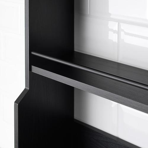 VADHOLMA - wall shelf, black   IKEA Indonesia - PE683521_S4