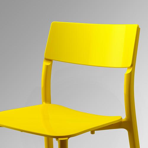 JANINGE - kursi, kuning   IKEA Indonesia - PE551331_S4