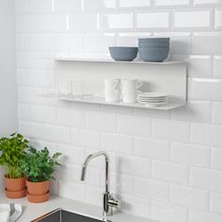 BOTKYRKA - Rak dinding, putih