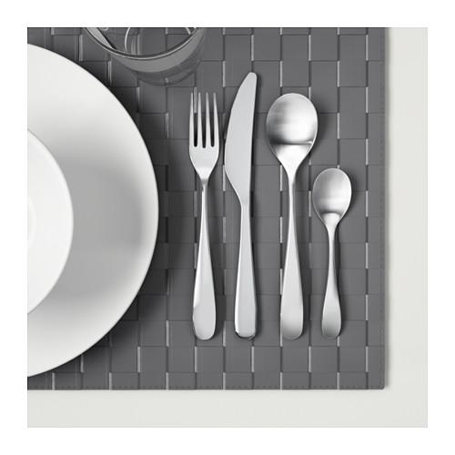 BEHAGFULL peralatan makan, set isi 24