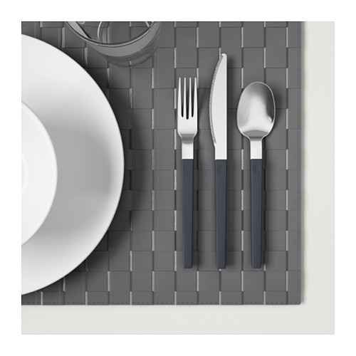 OSTRON peralatan makan, set isi 12