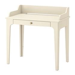 LOMMARP - Desk, light beige