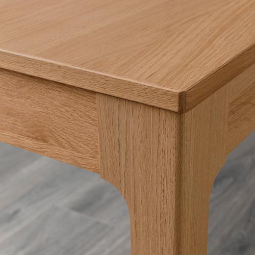 ODGER/EKEDALEN meja dan 2 kursi