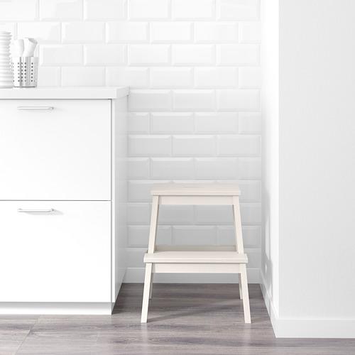 BEKVÄM - bangku tangga, putih, 50 cm | IKEA Indonesia - PE602959_S4