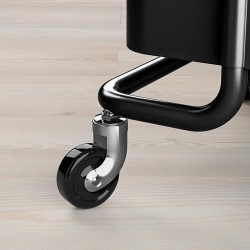 RÅSKOG - trolley, black, 35x45x78 cm | IKEA Indonesia - PE695374_S4