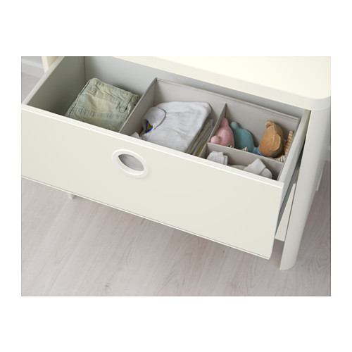 BUSUNGE chest of 2 drawers