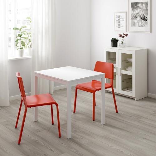 TEODORES/VANGSTA meja dan 2 kursi