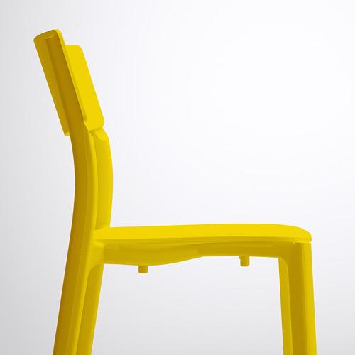 JANINGE - kursi, kuning   IKEA Indonesia - PE591007_S4