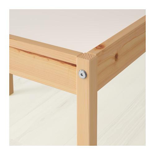 LÄTT meja anak dengan 2 kursi