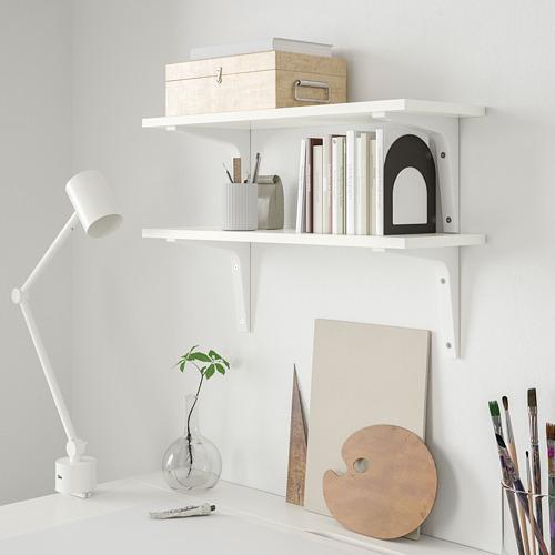 BURHULT/EKBY STÖDIS wall shelf combination