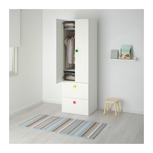 STUVA/FÖLJA lemari pakaian 2 pintu+2 laci