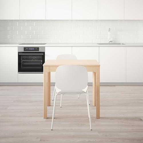 SVENBERTIL/EKEDALEN meja dan 2 kursi