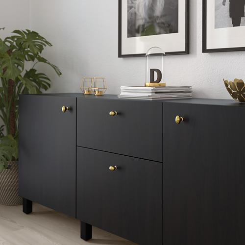 ENERYDA - kenop, warna kuningan, 35 mm | IKEA Indonesia - PE719927_S4