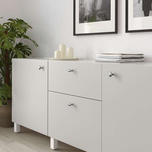 ENERYDA - kenop, dilapisi krom, 35 mm   IKEA Indonesia - PE719925_S4