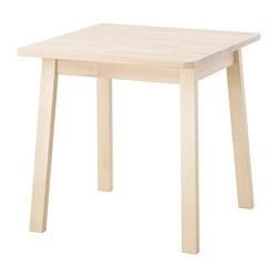 NORRÅKER - Meja, kayu birch