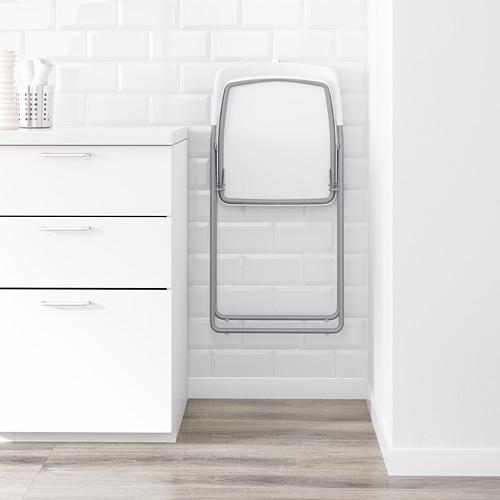 NISSE - kursi lipat, warna perak/putih | IKEA Indonesia - PE595998_S4